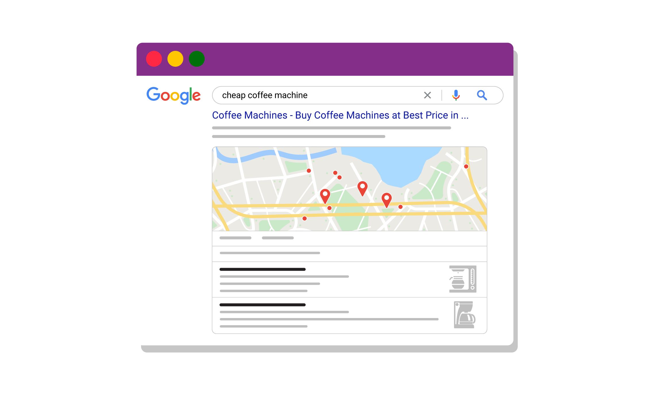 search intent local maps seo