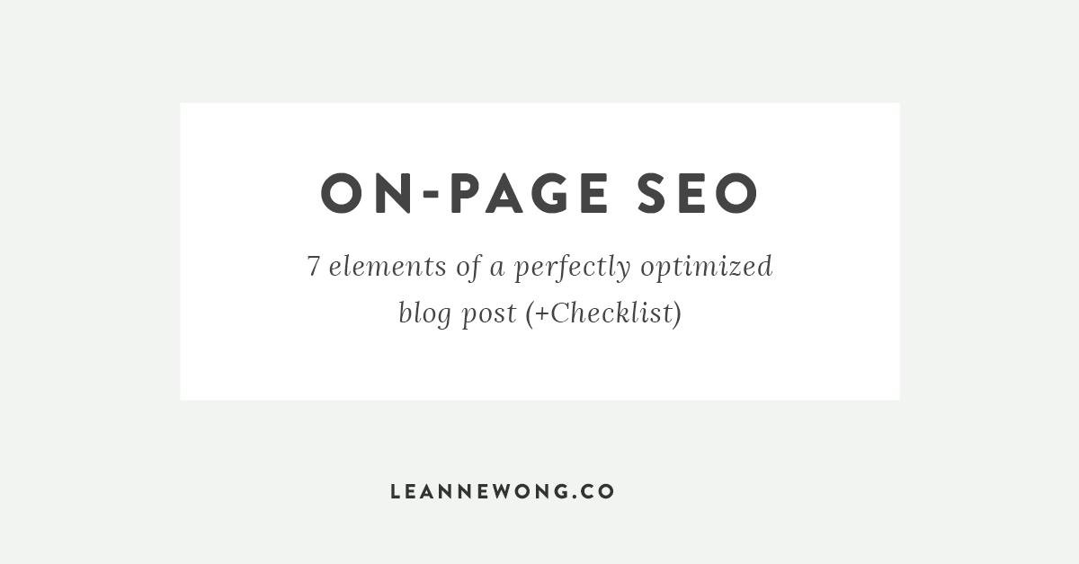 on-page-SEO-blog-post