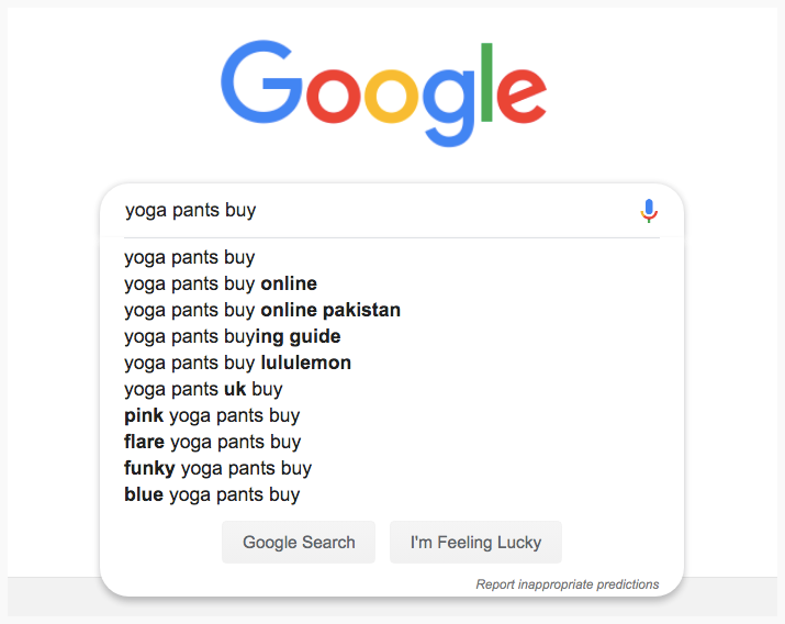 google-auto-suggest-yoga